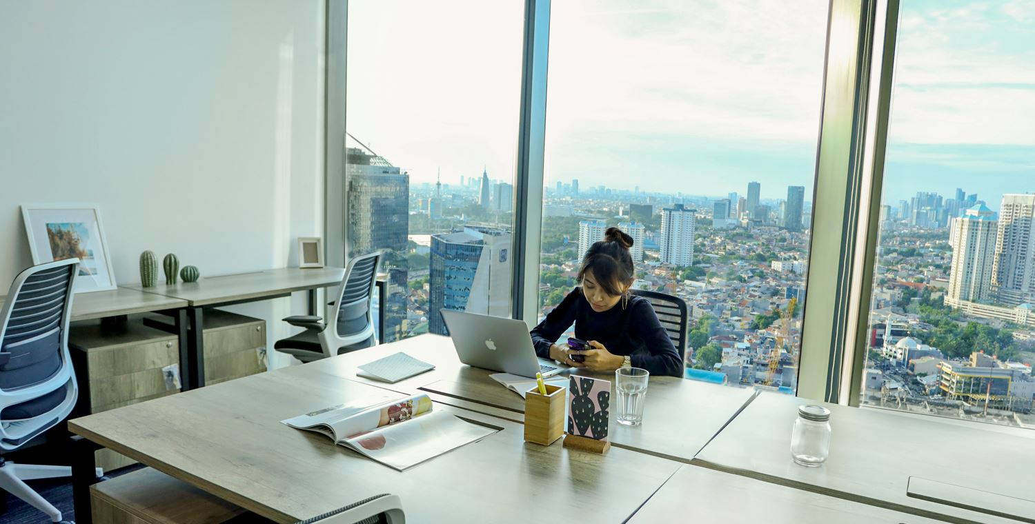 working space aia central jakarta