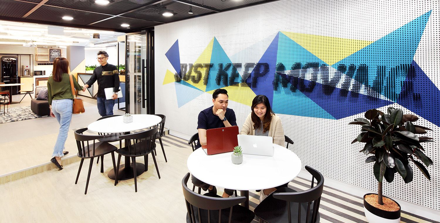 find office space at orchard road
