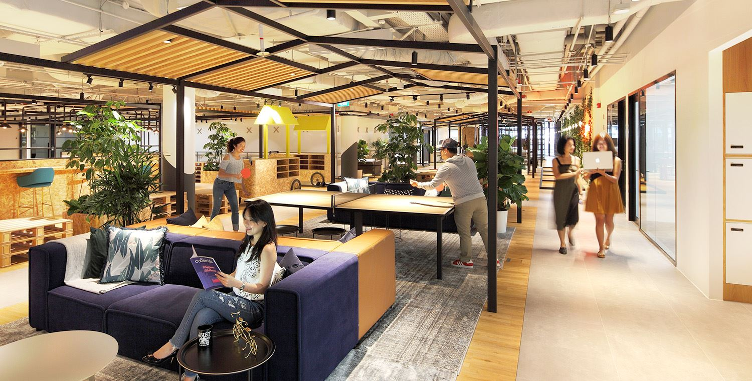 best coworking space singapore marina square mall