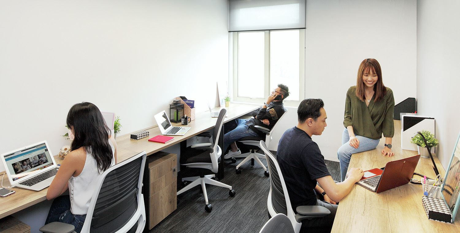 looking for office space orchard road