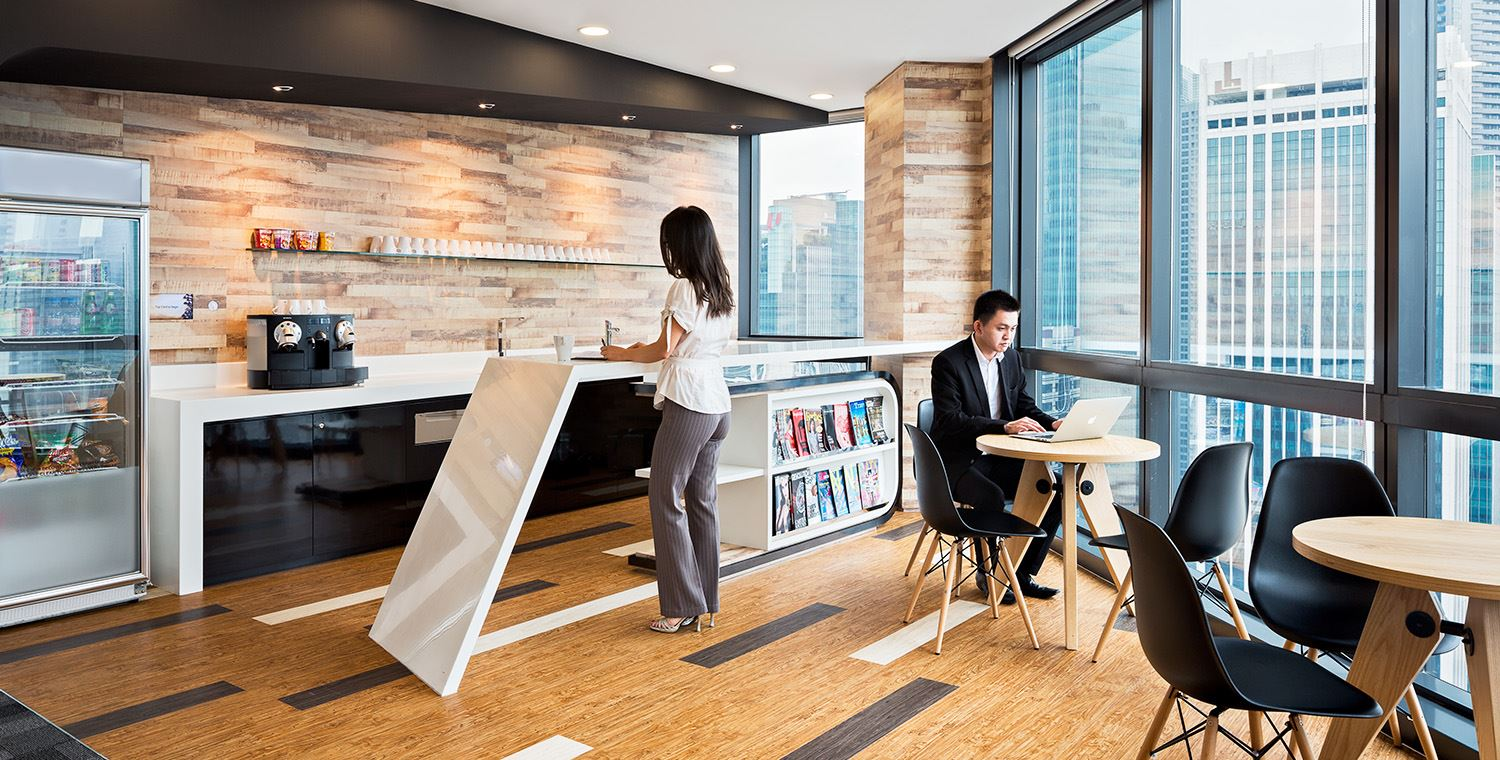 co working spaces in singapore raffles place
