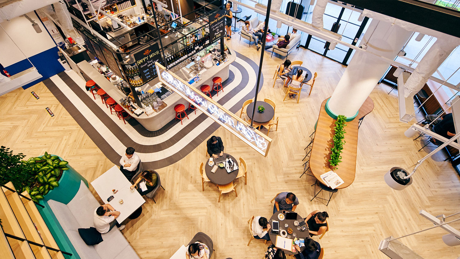 shared workspace collyer quay singapore